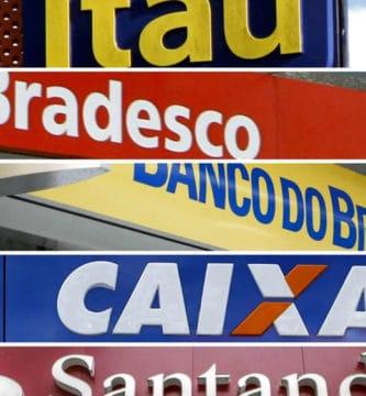 0800 dos principais bancos brasileiros