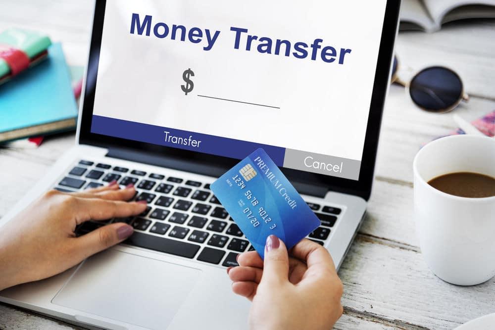 enviar transferência eletrônica de forma rápida e fácil
