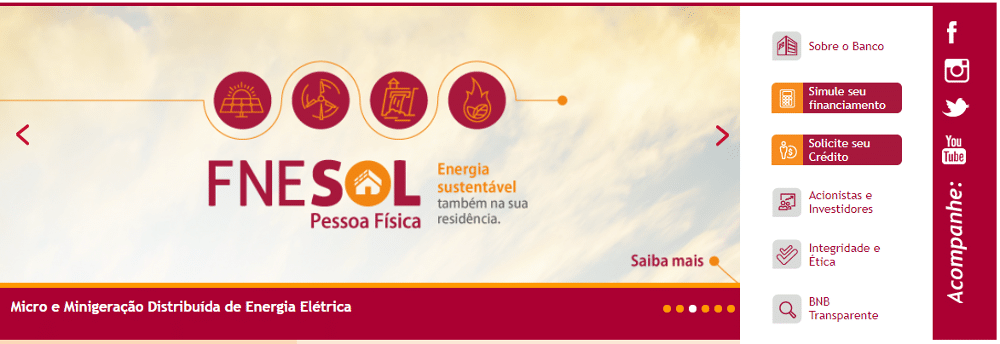 FNE Sol Banco do Nordeste