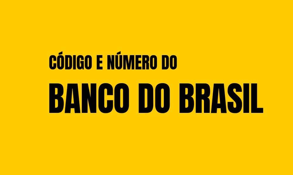 Número e Código do Banco do Brasil para TED e DOC