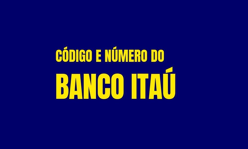 Número e Código do Banco Itaú para TED e DOC