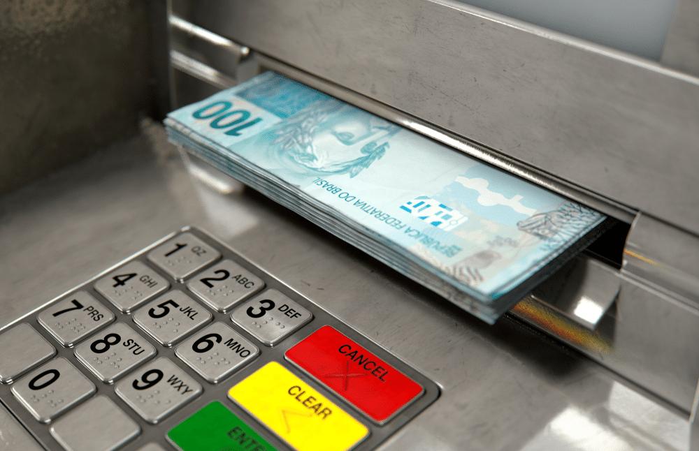 como sacar dinheiro sem cartão