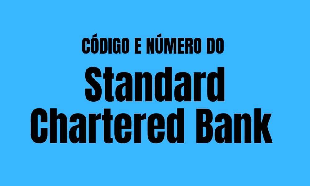 Número e código do Standard Chartered