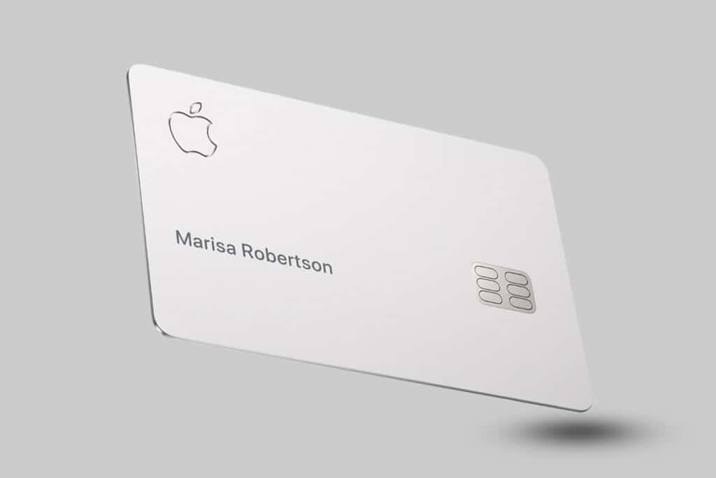 Cartão de Crédito Físico da Apple