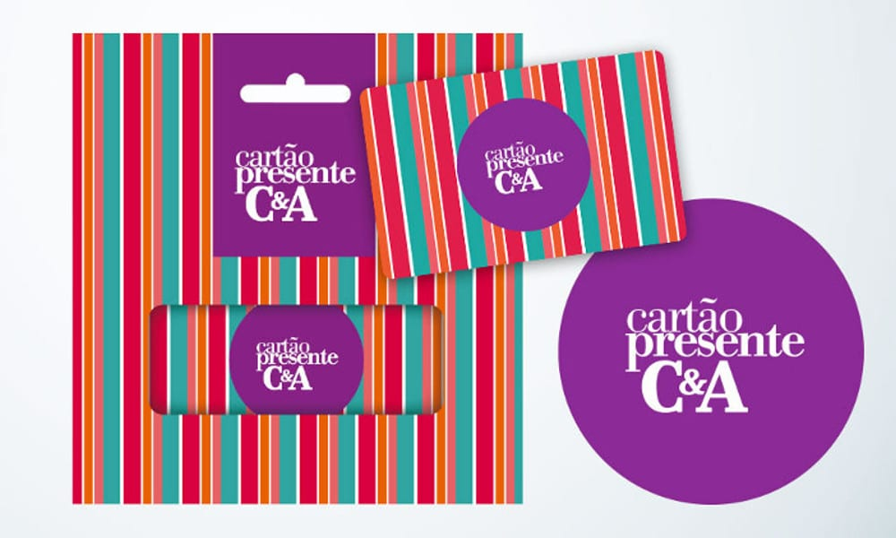 Cartão Presente C&A