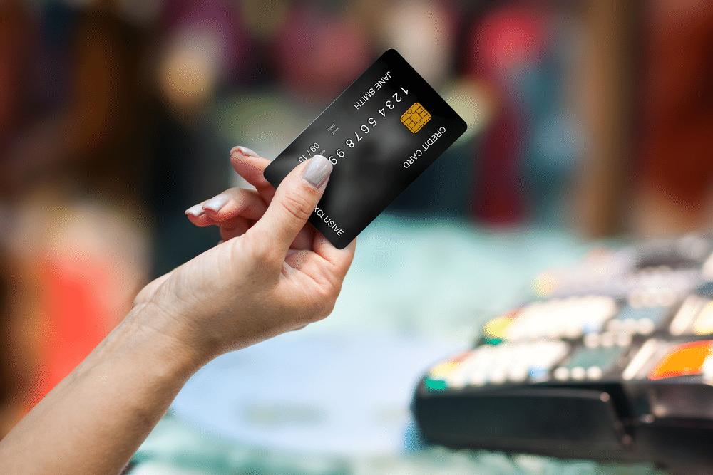 usar cartão de crédito