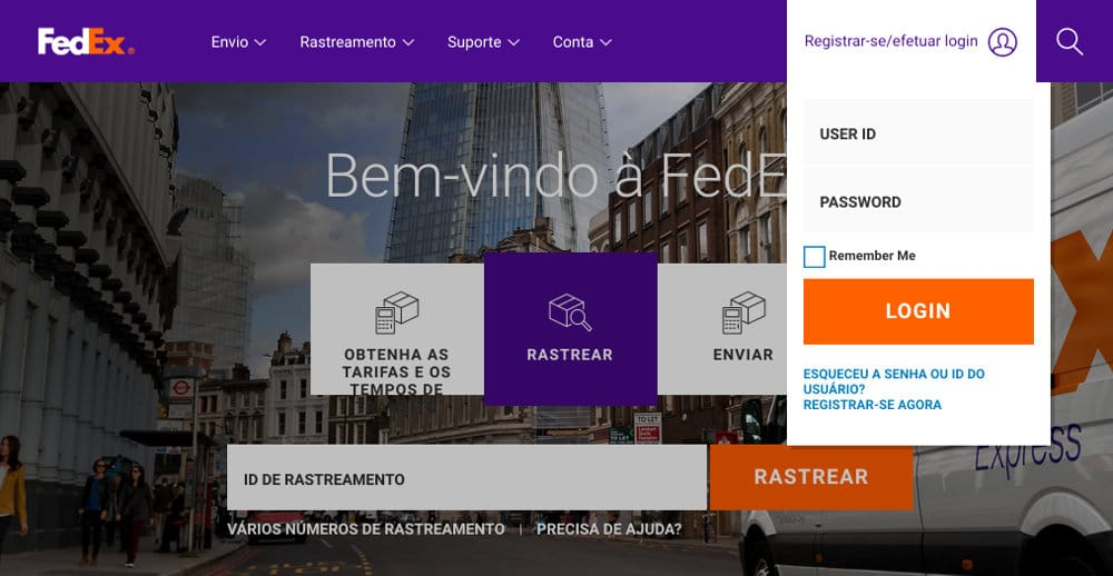 FedEx Online Brasil
