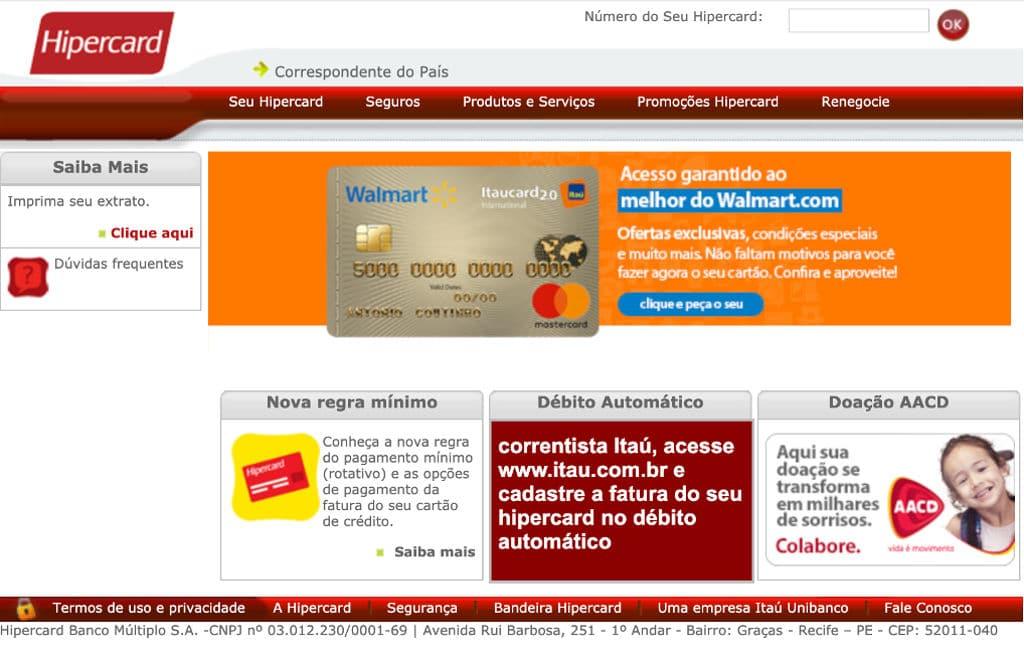 Hipercard Telefone - SAC, 0800 e Atendimento ao Cliente