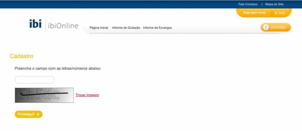 acessar a plataforma do IbiOnline