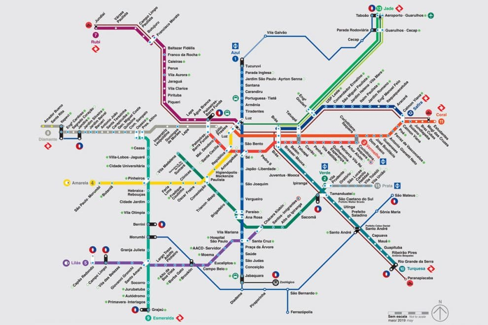 Metrô de São Paulo Telefone