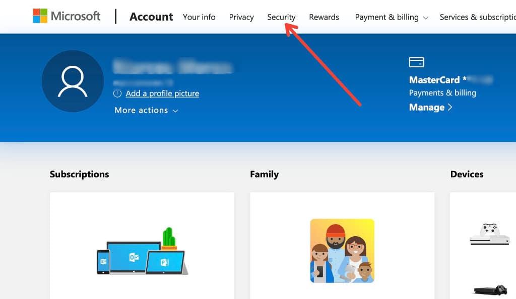 Como excluir sua conta da Microsoft