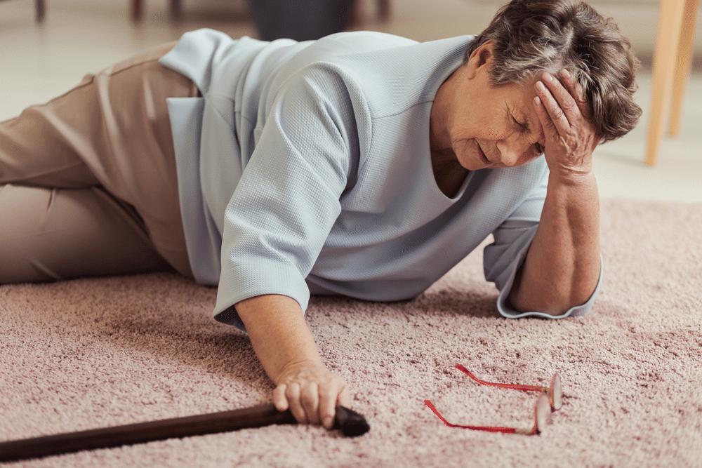 quedas em pessoas idosas
