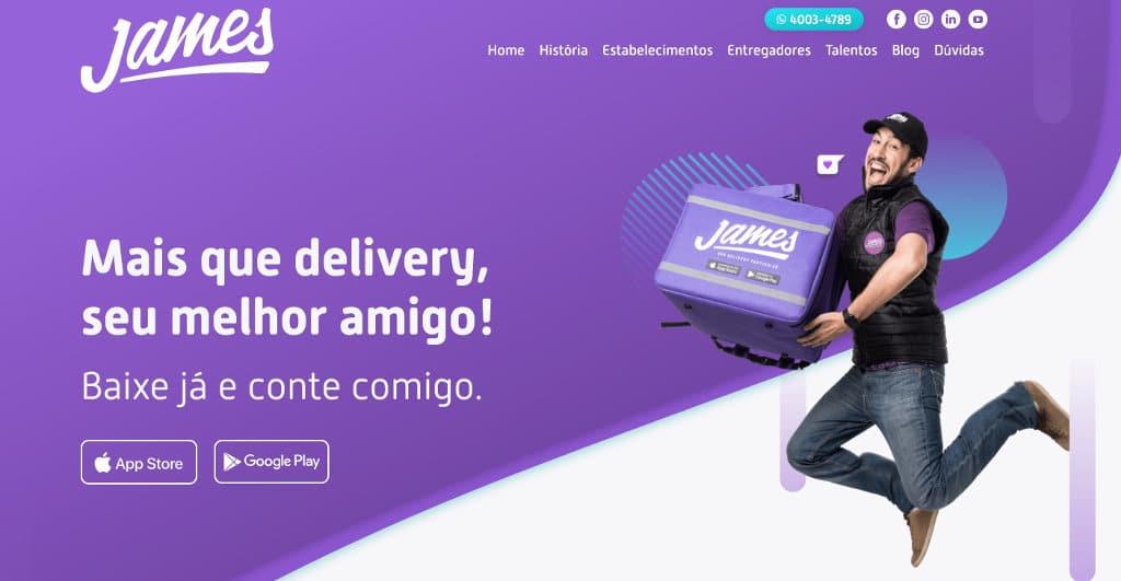 James Delivery Telefone - 0800, SAC e Fale Conosco