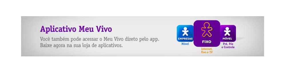 aplicativo meu vivo